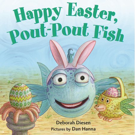 Happy Easter Pout pout Fish (Board Book)