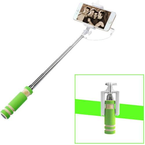 13.5cm Cable Extendable Handheld Selfie Stick Monopod