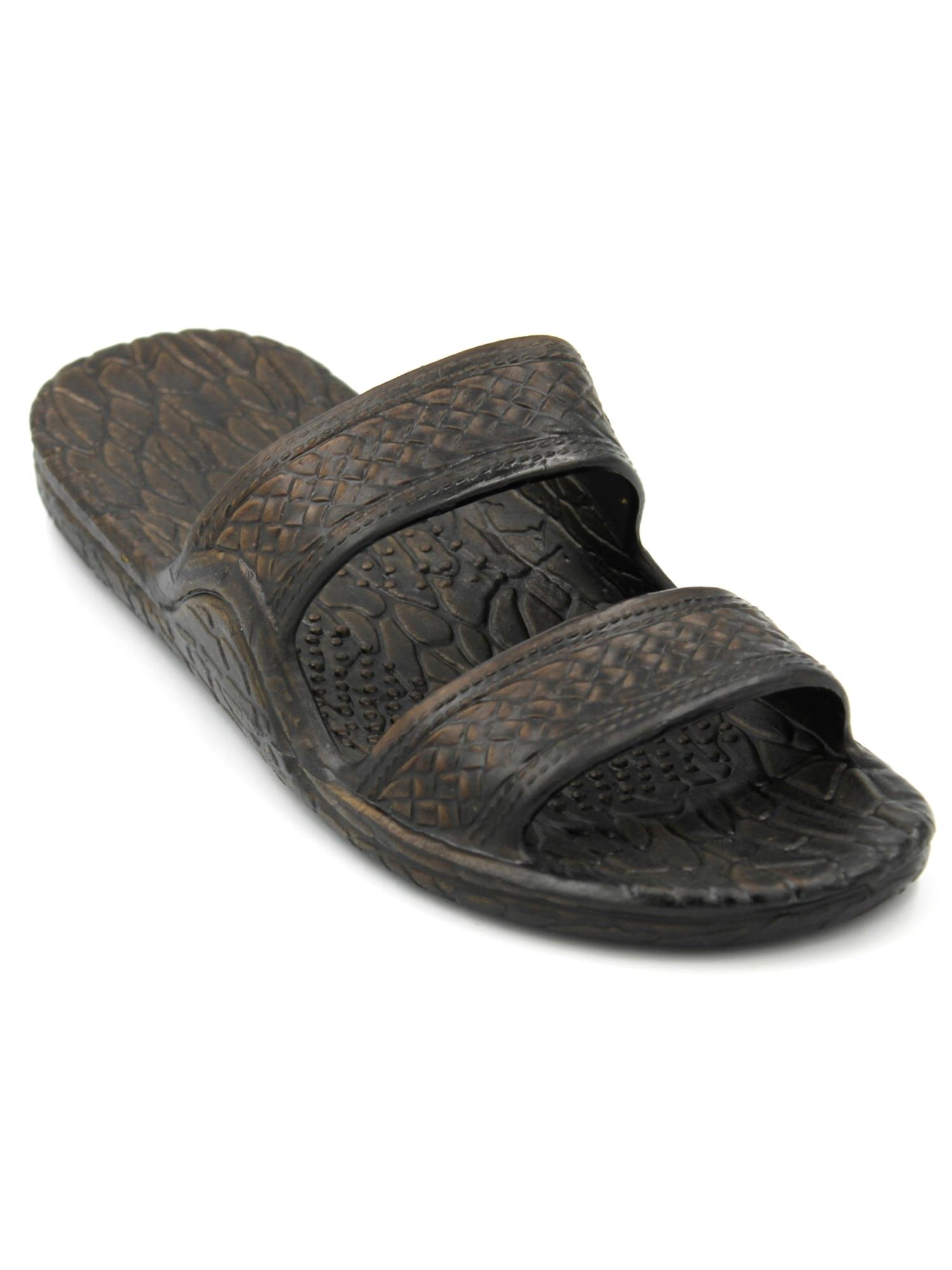 Genuine Original Jesus Jandal Sandal (Dark Brown;Size 7)