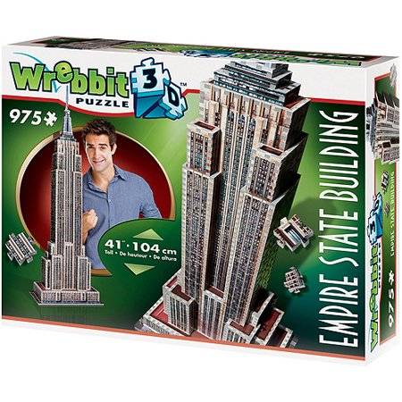 Empire State Building 3D Puzzle: 975 Pieces