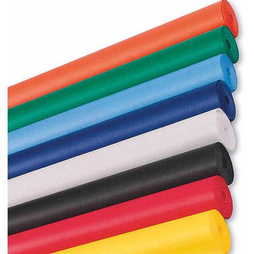 "Spectra ArtKraft Duo-Finish Paper Roll, 48"" x 200', Black"