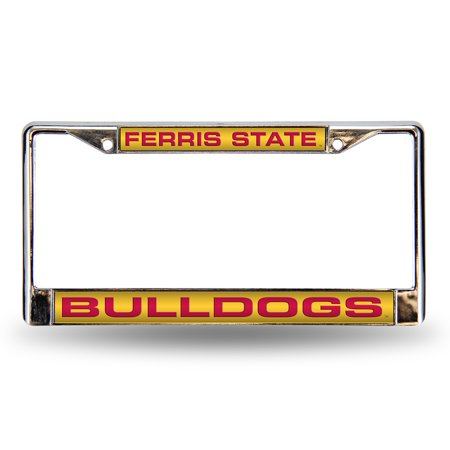 Ferris State Bulldogs Official NCAA Metal License Plate Frame by Rico