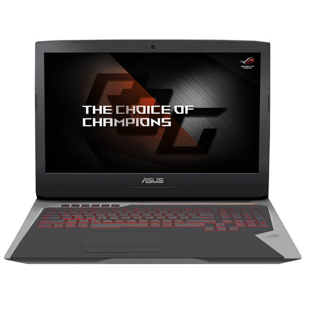 Asus ROG G752VS-XS74K 17.3 inch Intel Core i7-7820HK 2.7GHz  16GB DDR4  1TB HDD + 512GB PCI-E SSD  GTX 1070  DVD�RW ... by ASUS