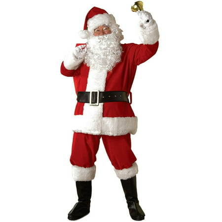 Rubie's® Regal Deluxe Plush Santa Suit 6 pc - Deluxe Santa Suit