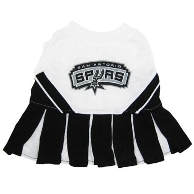 Mirage Pet Products 305-09 CH-XS San Antonio Spurs Cheer Leader XS
