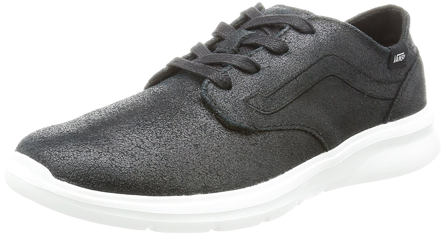 Vans Unisex ISO 2 Canvas (Patent Crackle) Black/Black VN0A2Z5TM1I, US Men 6.5