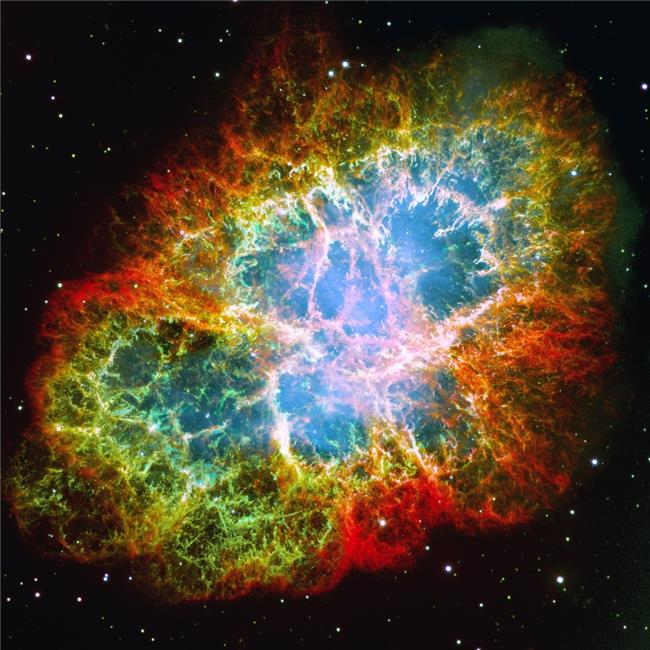 Posterazzi DPI1787262LARGE Crab Nebula Poster Print by Don Hammond, 24 x 24 - Large - image 1 de 1
