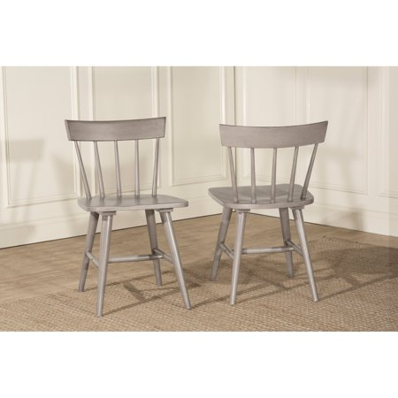 Hillsdale Furniture Mayson Spindle Back Dining Chair, Set of 2 Antique Spindle Back Chairs