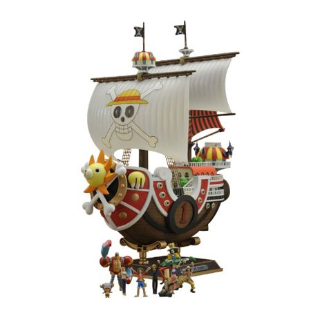 One Piece: Thousand Sunny Ship New World Ver. Plastic Model Kit (Thousand Sunny Model Kit)