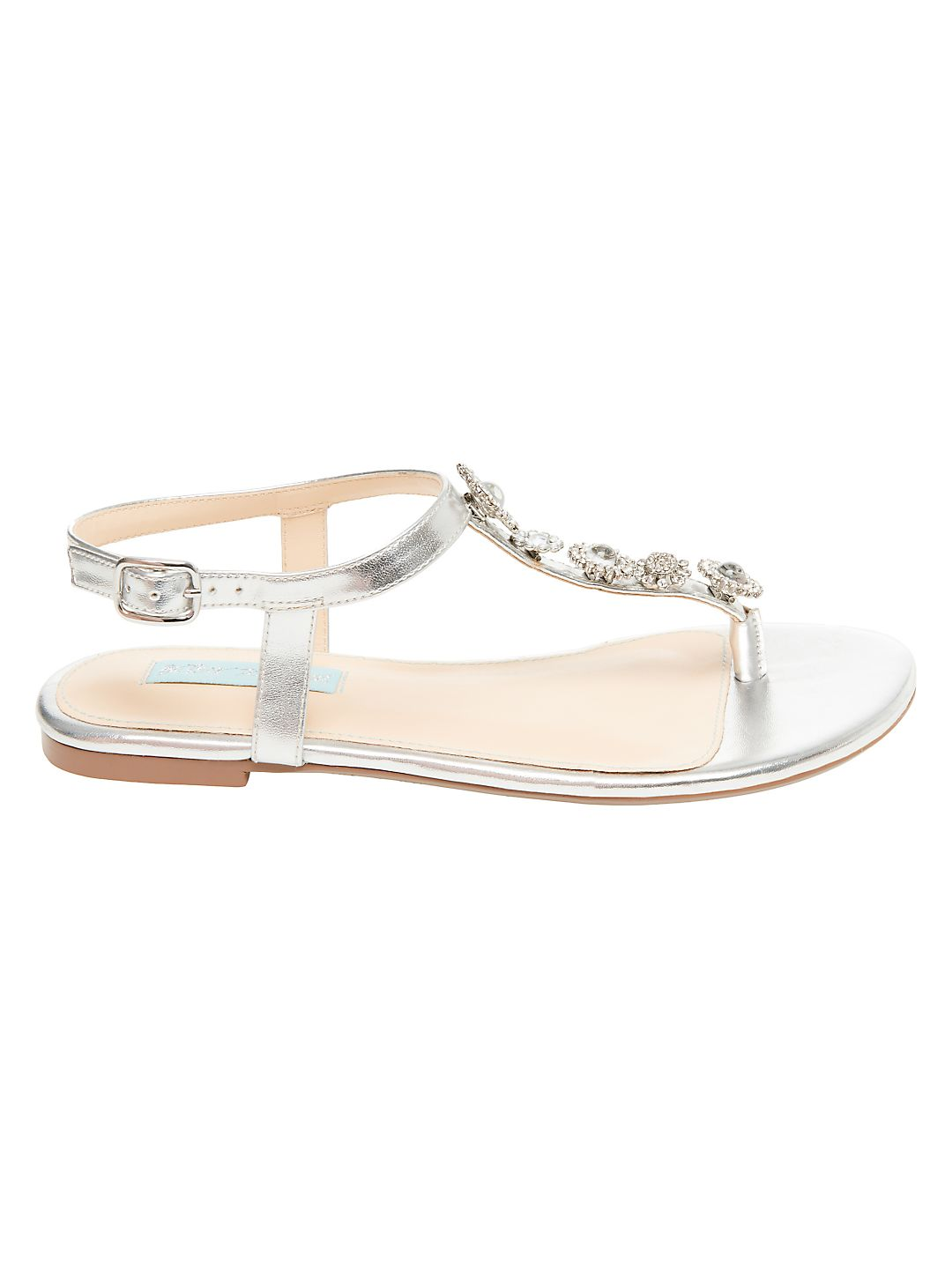 Laura Faux-Pearl Sandals