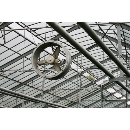 - Framed Art For Your Wall Fresh Air Technology Metal Greenhouse Fan Steel 10x13 Frame