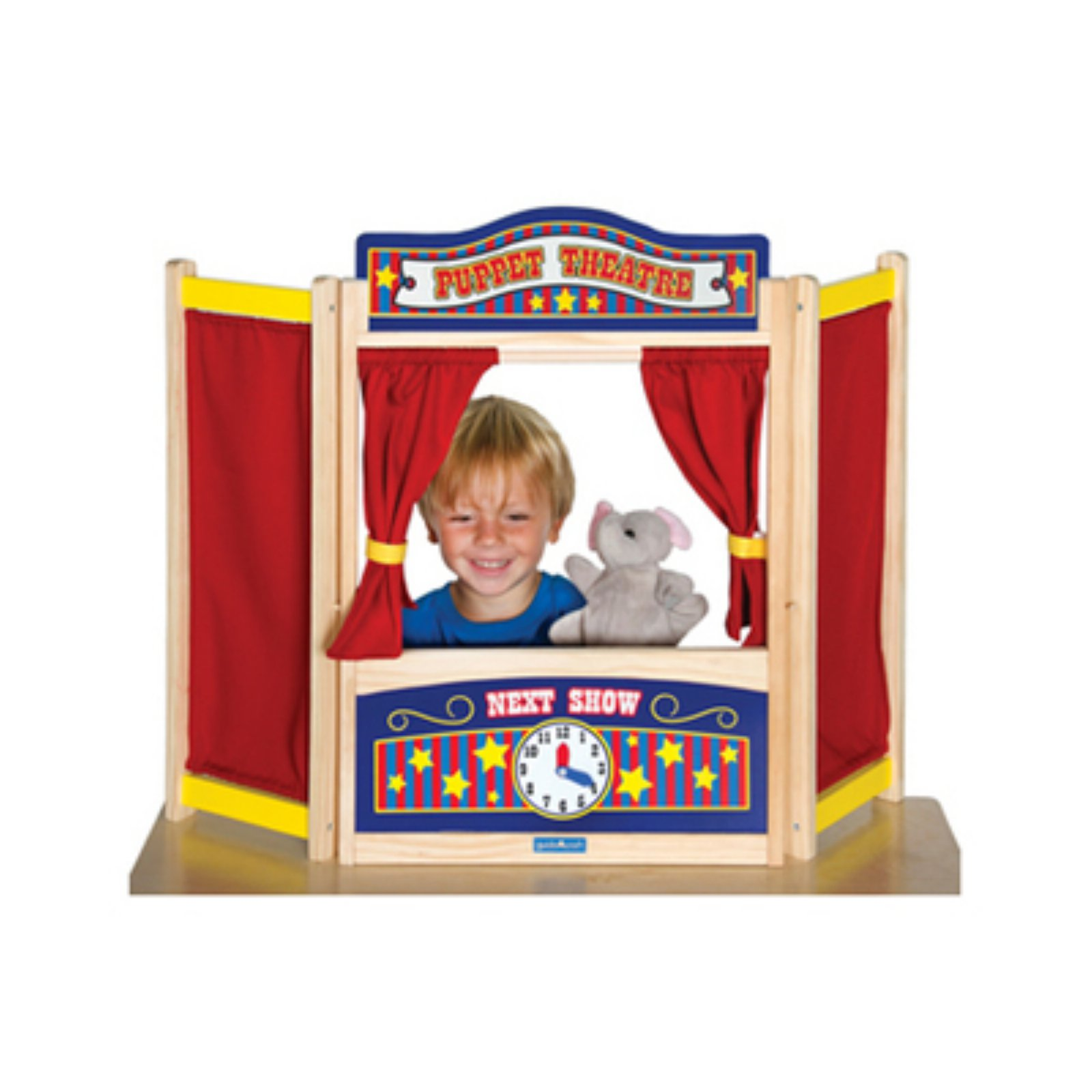 Guidecraft Pretend & Play Tabletop Theater