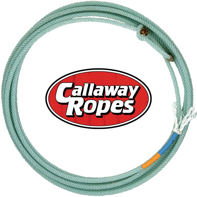 Callaway Rope Company  Green Bullet Head Rope