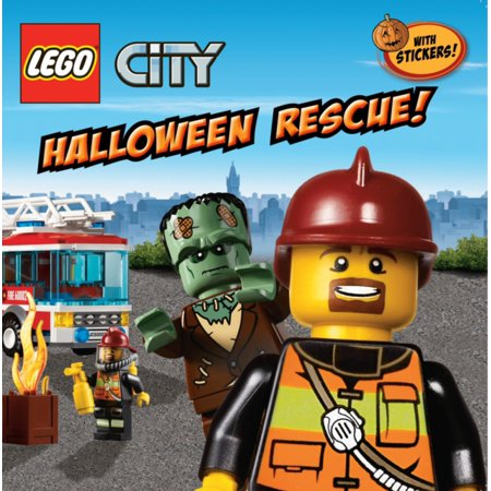 LEGO City: Halloween Rescue! (Paperback)