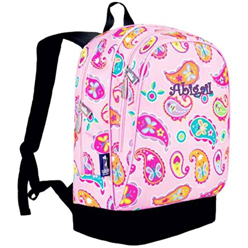 Personalized Classic Backpack (Pink Paisley)