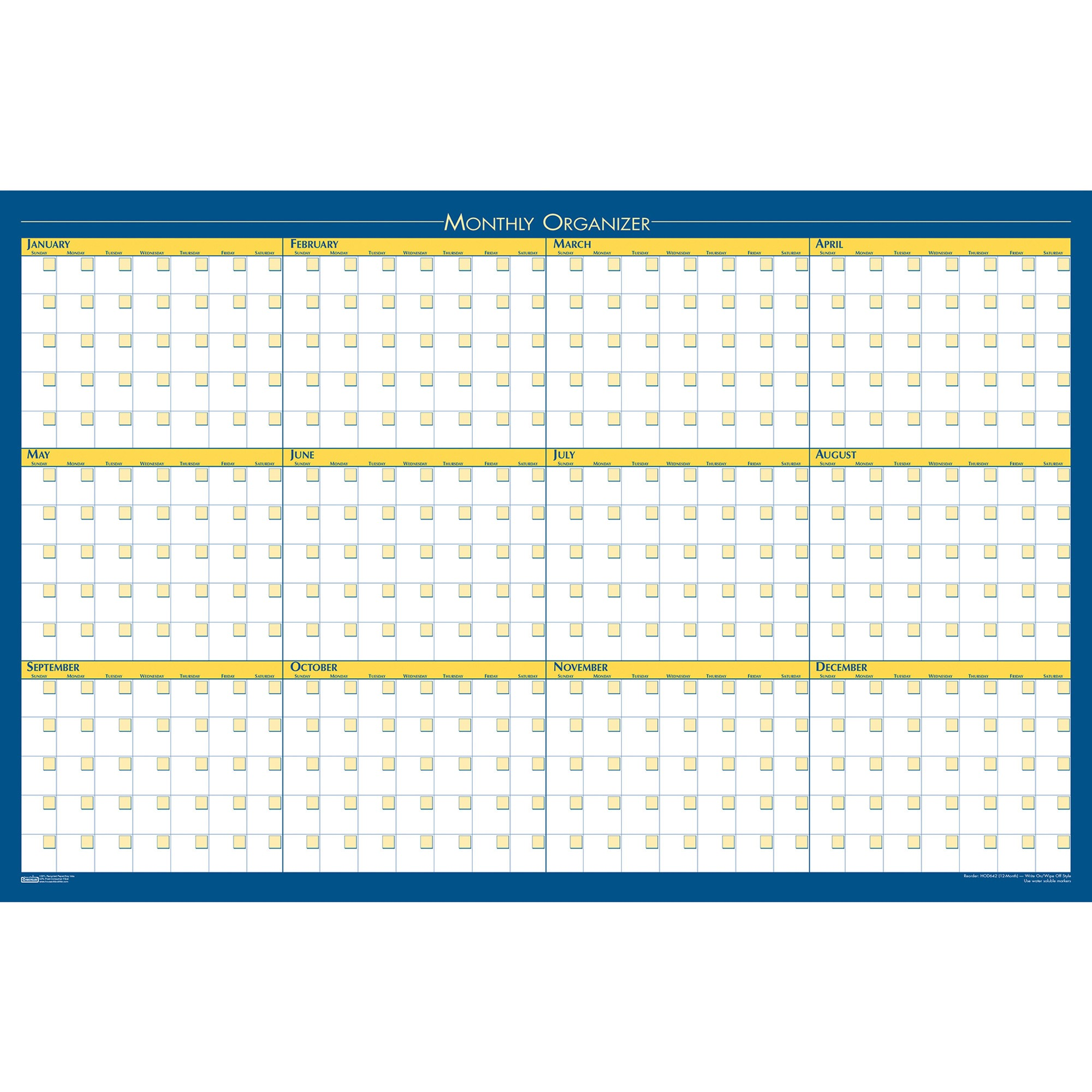 House of Doolittle Non-dated Horizontal/Vertical Planner
