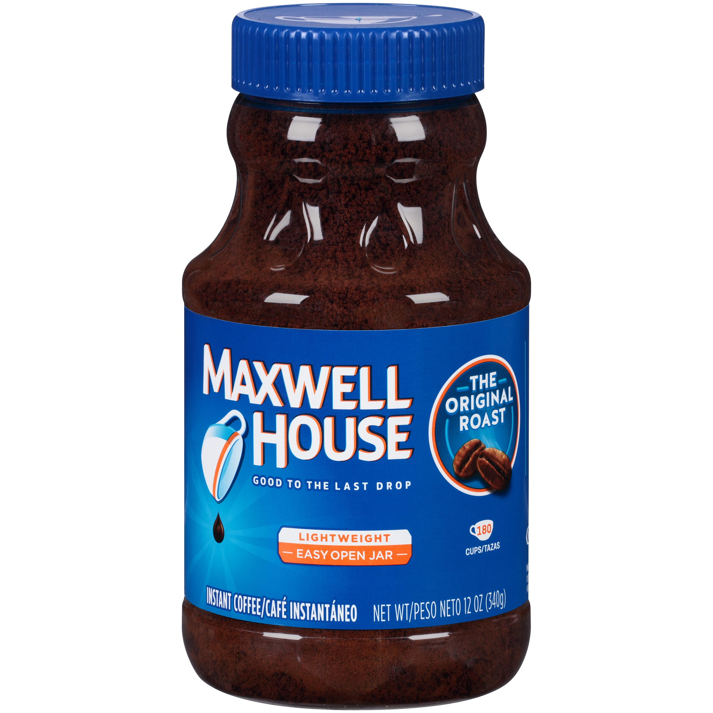 Maxwell House Original Roast Instant Coffee 12 oz. Jar