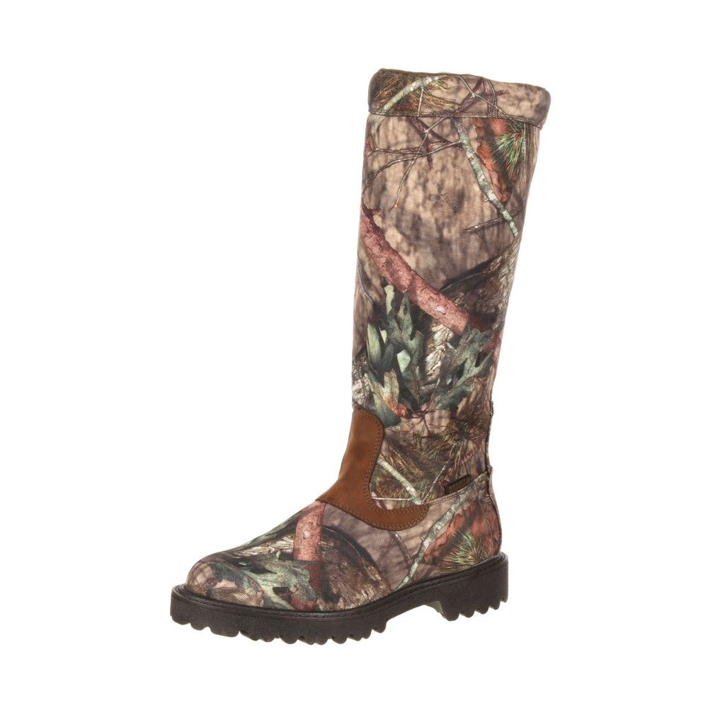"Rocky Outdoor Boot Mens 16"" Low Country Waterproof Snake Mossy RKS0232 by Rocky"