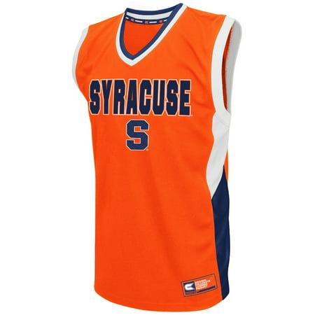 Syracuse Orange Ncaa  Fadeaway  Mens Fashion Basketball Jersey