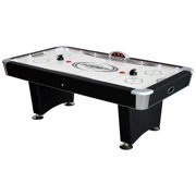 Hathaway Stratosphere Air Hockey Table with Docking Station, 7.5-ft, Black