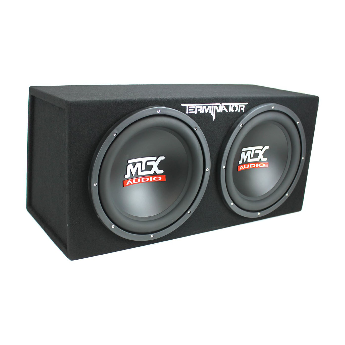 "Mtx Audio TNE212D Dual 12"" Sealed Enclosure"