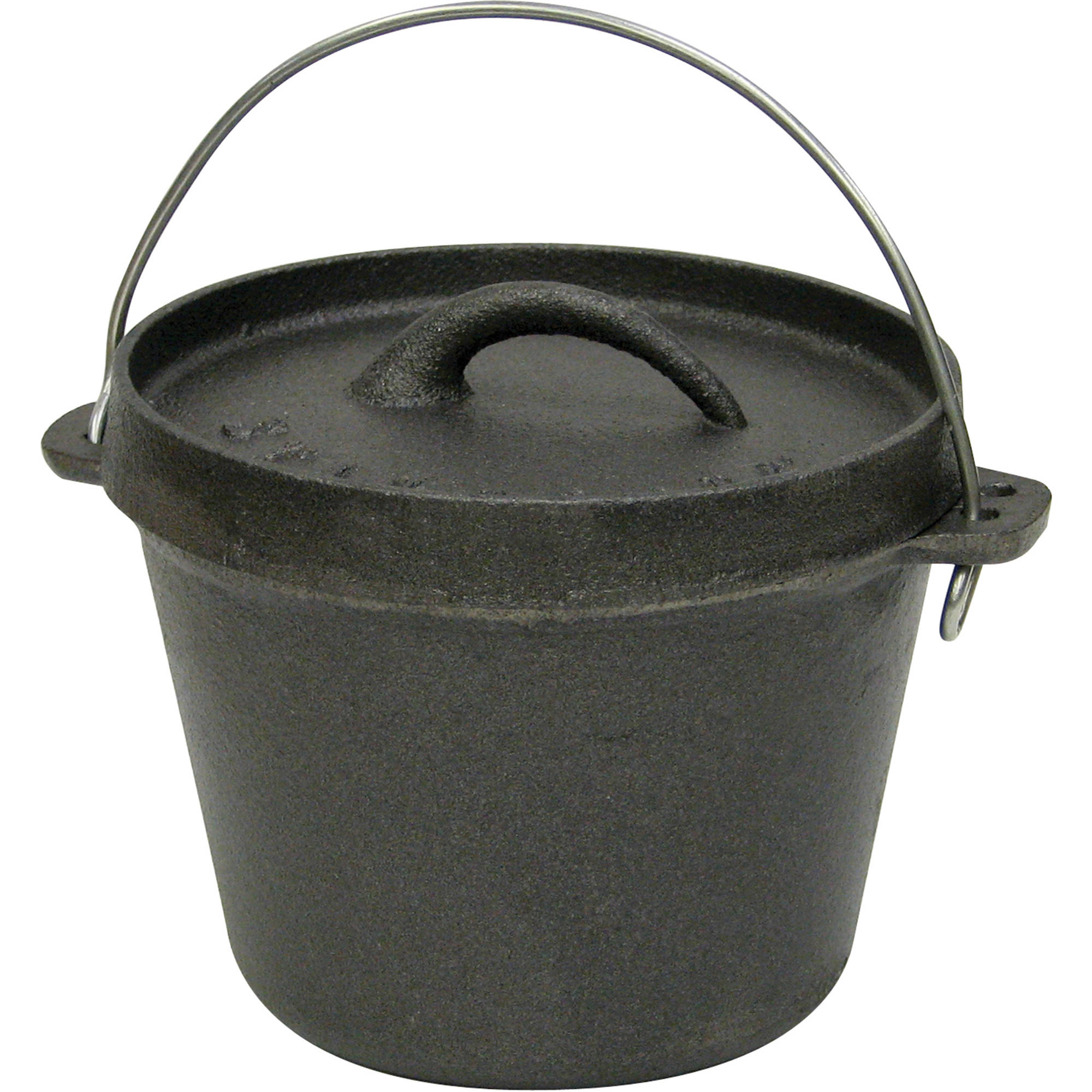 Stansport Cast Iron Dutch Oven, Without Legs