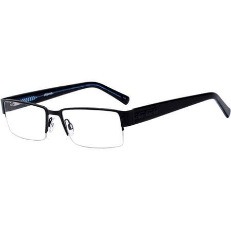 a1e80bf84c25 ... Eyeglass Frames 616m Black Blue Metal Men s Rx-able UPC 741558300548  product image for iStamp Mens Prescription Glasses