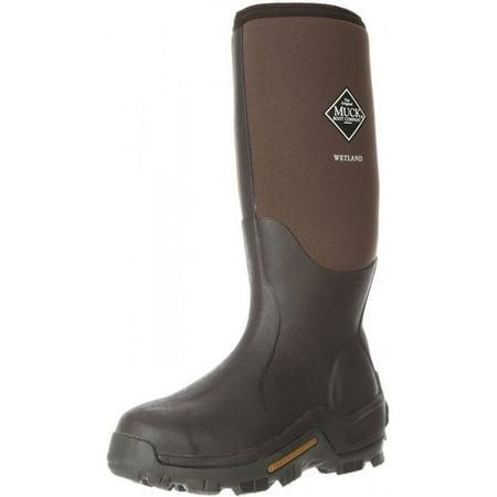 Muck Boots Mens Wetland Premium Hunting WP Winter Brown WET-998K