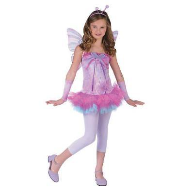 IN-MC0827LG Fluttery Butterfly Girls Halloween Costume LARGE By Fun Express - Halloween Express Jobs