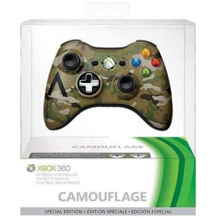 xbox 360 special edition camo wireless controller xbox. Black Bedroom Furniture Sets. Home Design Ideas