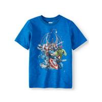 Marvel The Avengers Cluster Short Sleeve Tee (Little Boys & Big Boys)