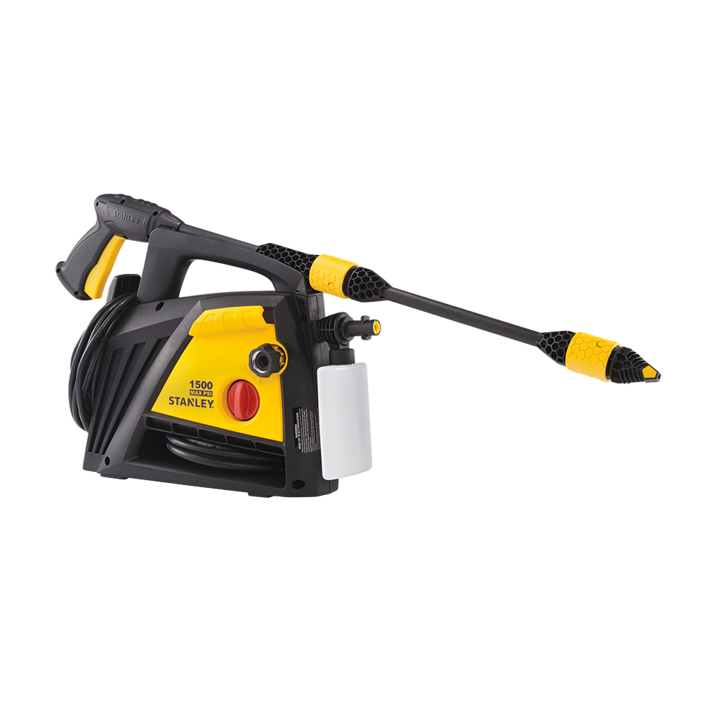 Stanley SLP 1500 PSI Pressure Washer with Spray Gun