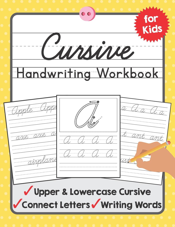 Tuebaah Handwriting Workbook: Cursive Handwriting Workbook For Kids : A  Beginning Cursive Writing Practice Book For Kids Beginners (Series #3)  (Paperback) - Walmart.com - Walmart.com