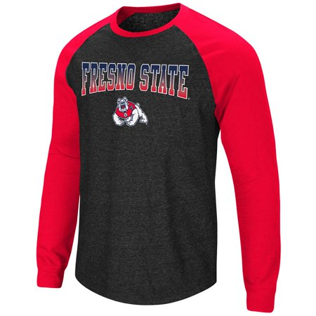 - Mens Fresno State Bulldogs Long Sleeve Raglan Tee Shirt - S