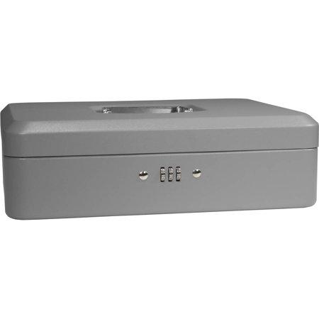 barska 12 inch cash box with combination lock. Black Bedroom Furniture Sets. Home Design Ideas