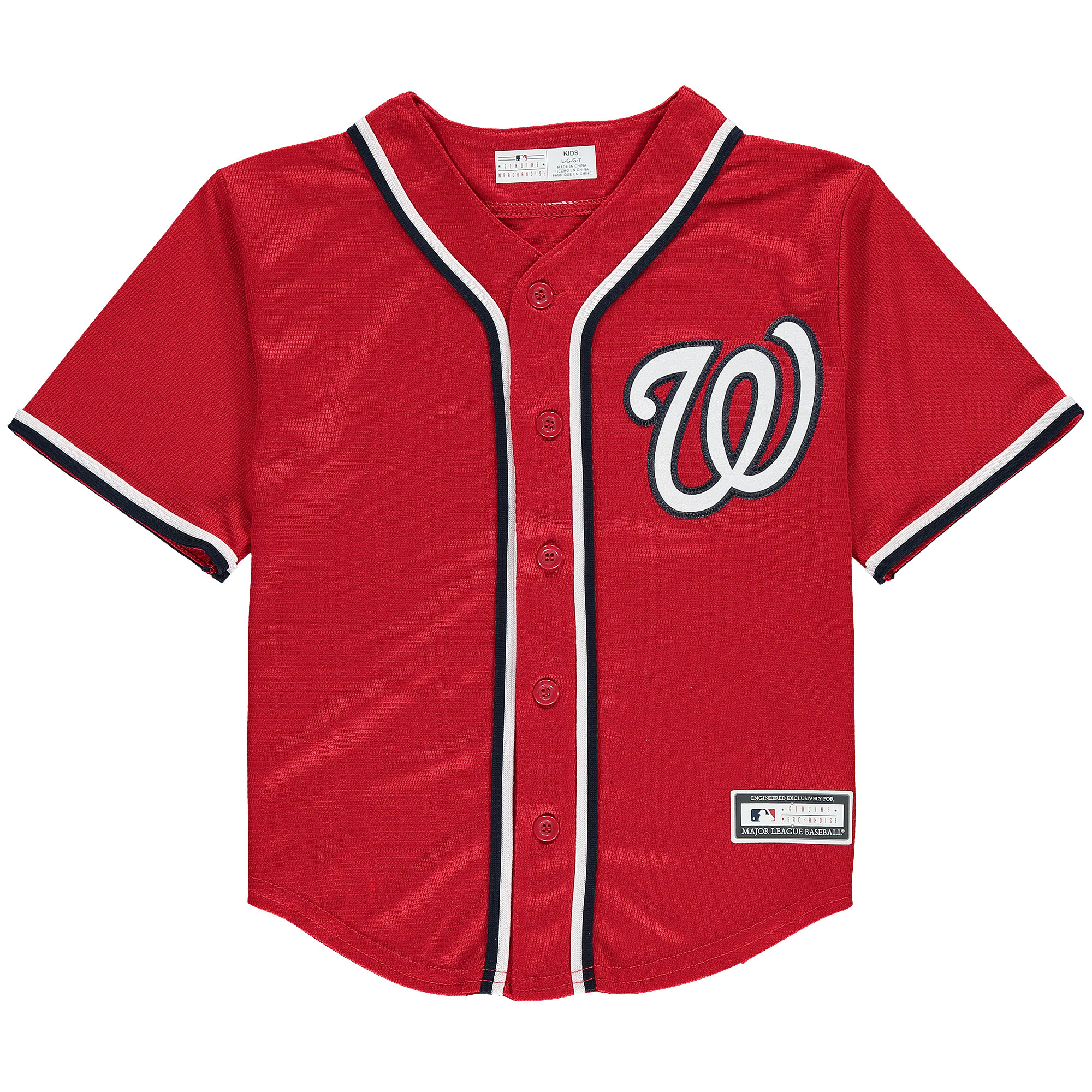 Washington Nationals Preschool Replica Team Jersey - Red