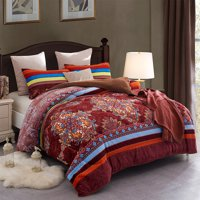 Heavy Sherpa Fleece Bed Blanket and Pillowcase Set