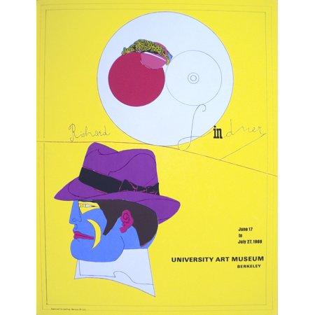 Richard Lindner University Art Museum 1969 Serigraph