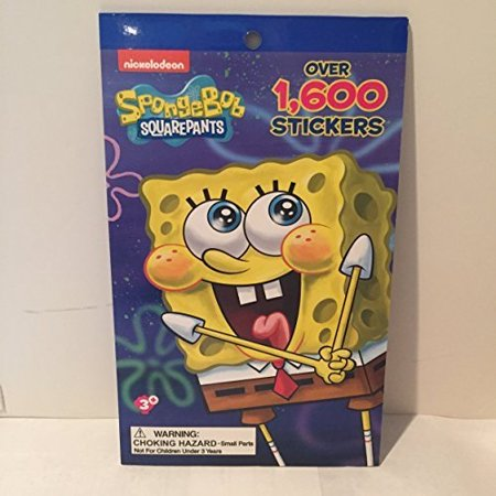 - creative kids far east inc. nickelodeon spongebob squarepants 1,600 stickers book