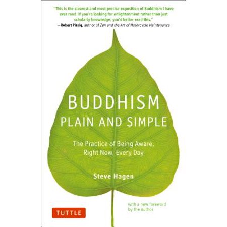 Buddhism Plain and Simple : The Practice of Being Aware Right Now, Every (Turn Around Right Now Every Now And Then)