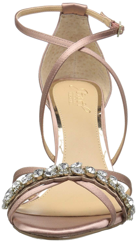 b9532cfa21cb Badgley Mischka Women s Gisele Heeled Sandal