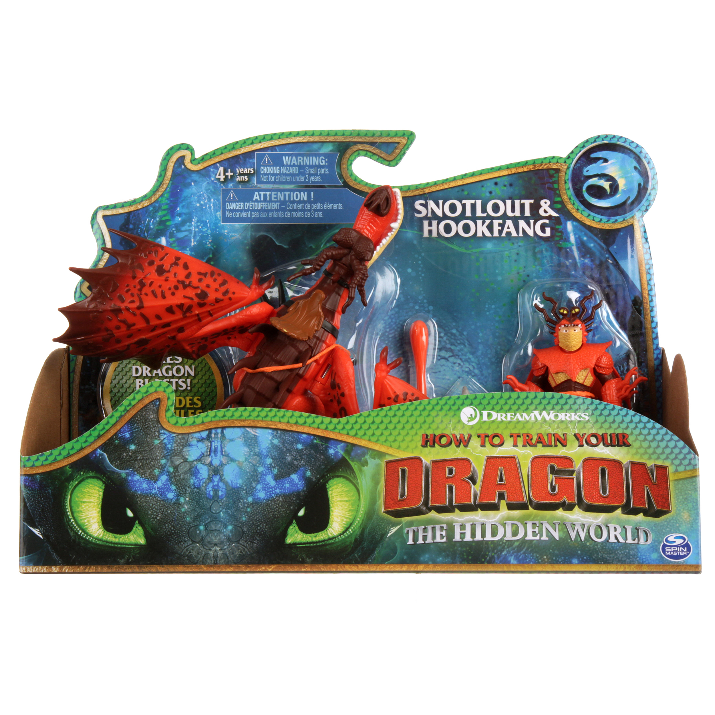 How To Train Your Dragon Collectors Bag Clip 3 Inch Hookfang Sitting