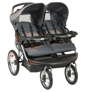 Baby Trend Navigator Double Jogger by Baby Trend