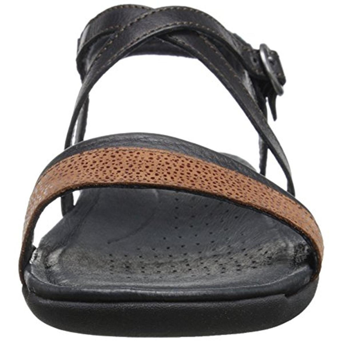 Keen Womens Rose City Leather Open Toe Strap Sandals