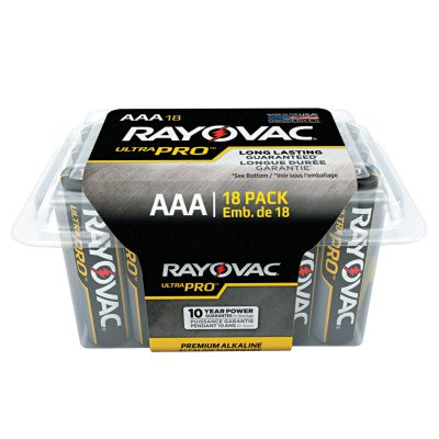 Ultra Pro Alkaline Reclosable Batteries, Aaa
