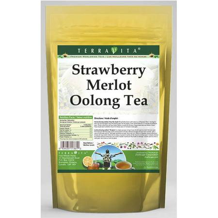 Strawberry Merlot Oolong Tea (25 tea bags, ZIN: 542025) (Merlot Food Pairings)