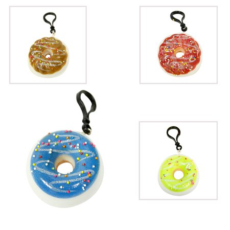 Squishy Assorted Donut Keychain