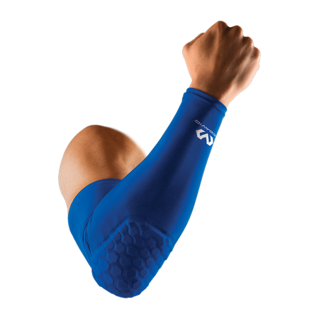 - McDavid MD6500 Hex Shooter Arm Sleeve/Single, Adult L, ROYAL