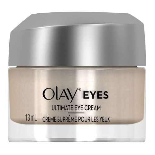 Olay Eyes Ultimate Eye Cream for wrinkles, puffy eyes, and dark circles, 0.4 fl oz (Pack of 2)