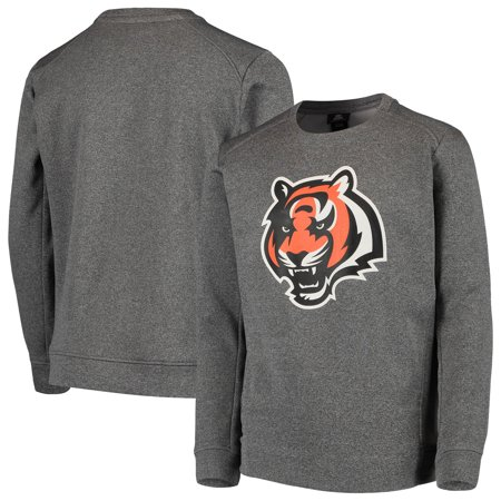 new concept c9ceb 0fc2f Cincinnati Bengals Nike Youth Fleece Crew Sweatshirt - Heathered Gray
